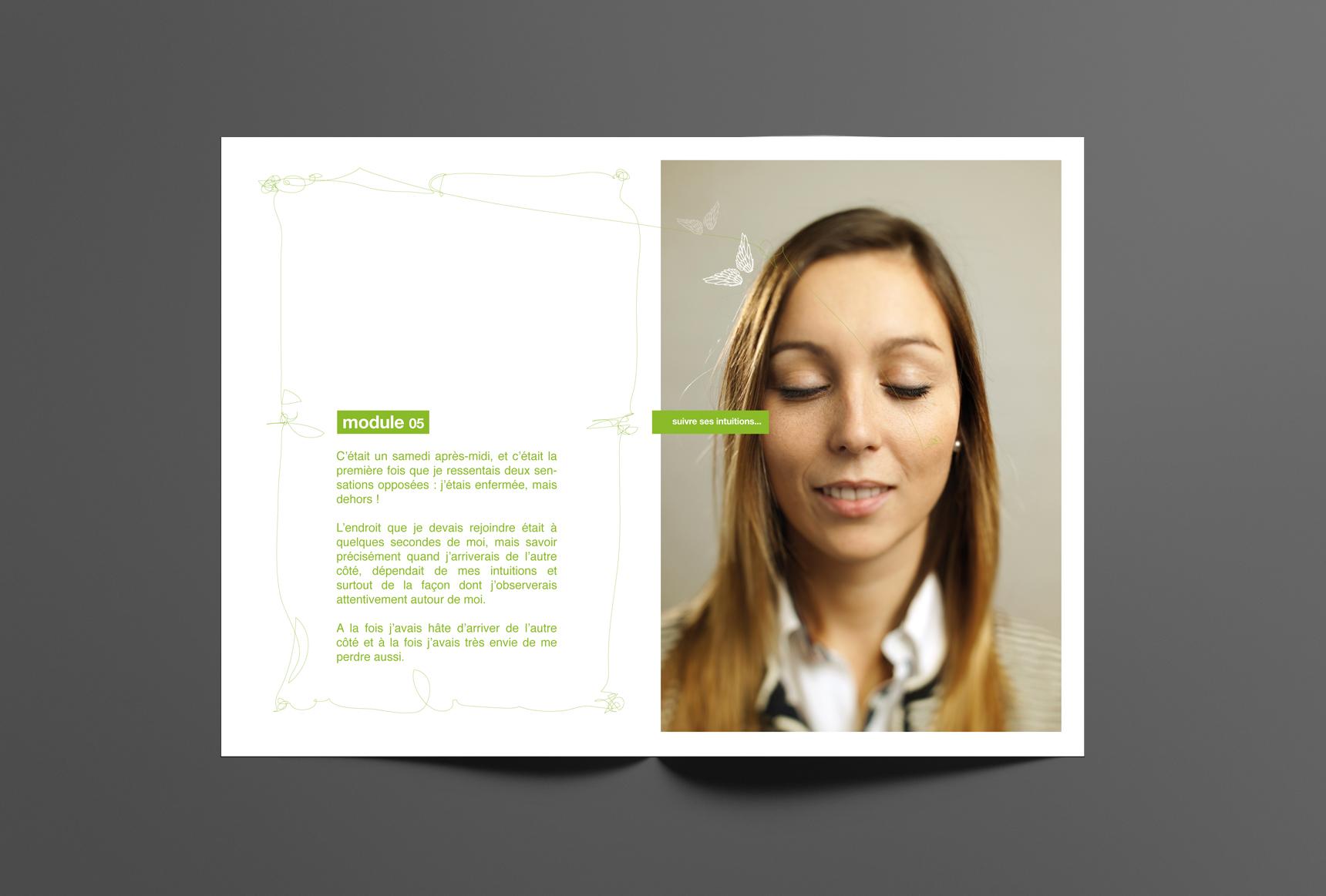 Communication Ludopia réalisée par l'Agence de création ELEM NT