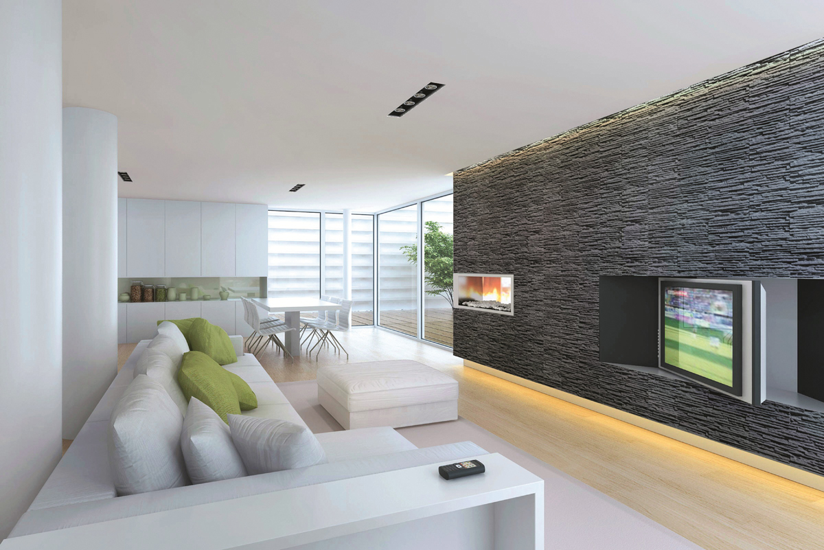 mur en pierre salon mur en pierre salon with mur en pierre salon top immortelle pierre pour le. Black Bedroom Furniture Sets. Home Design Ideas