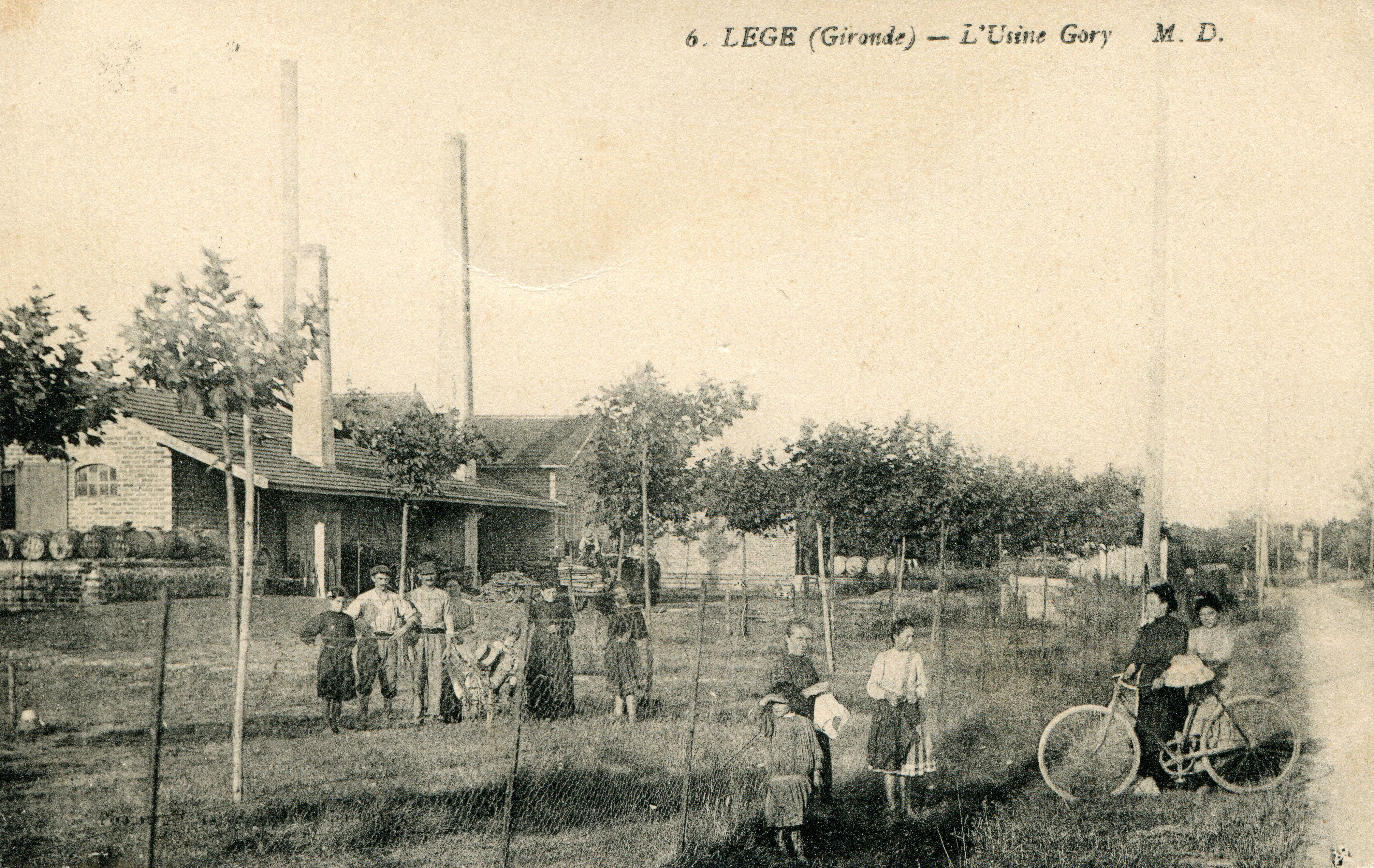Läge - L'usine Gorry (coll. Luc Dupuyoo)