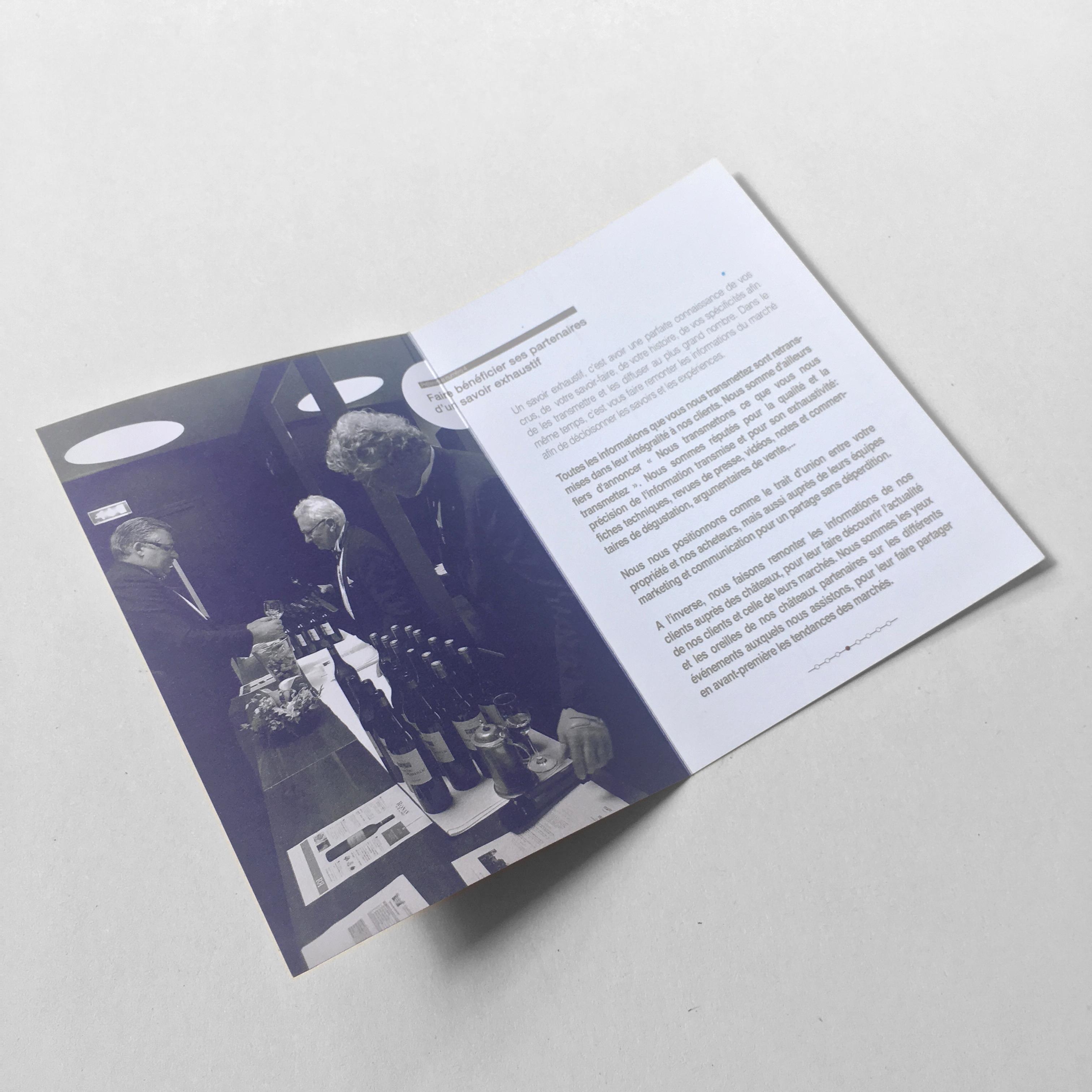 leaflet ouvert Bordeaux Tradition