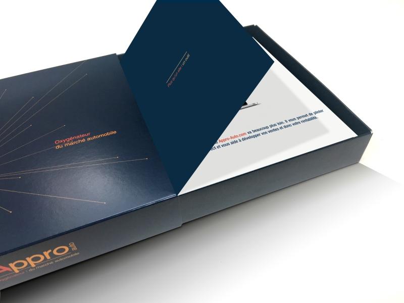 nouvelle communication APPRO AUTO réalisée par l'agence de marque bordelaise ELEM NT