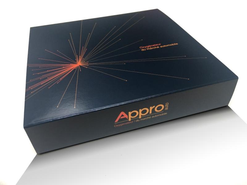 nouvelle communication APPRO AUTO réalisée par l'agence de marque ELEM NT