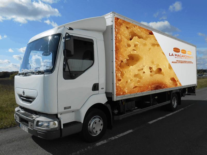 camion cannelé