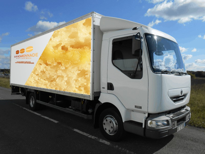 camion macaron