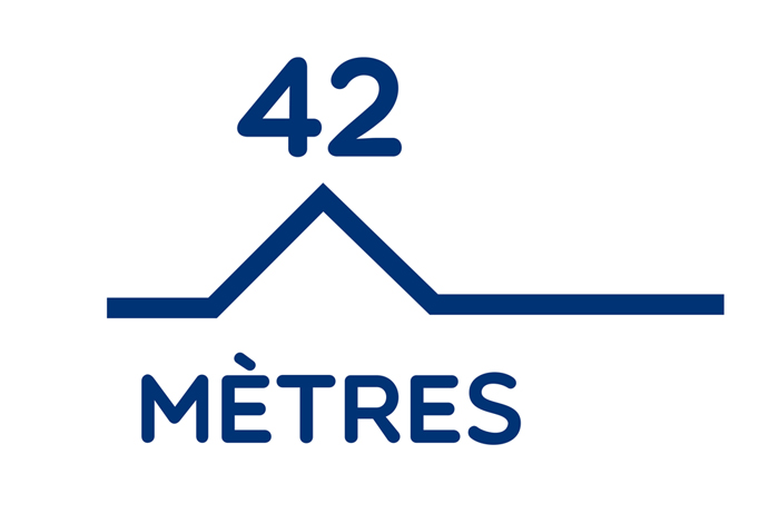Logo 42 mtres-Pantone