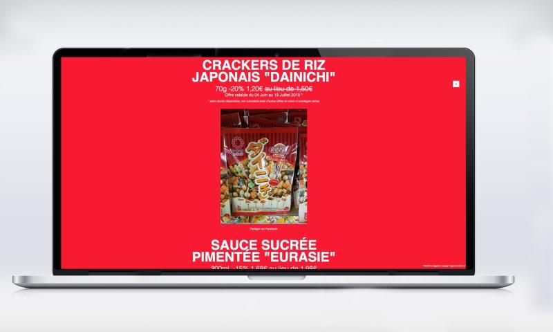 site aurasie-agence elemnt promos